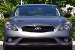 2015 INFINITI Q60 Coupe Sport Limited Carfax 1-Owner - No AccidentsDamage Reported  Gray  We