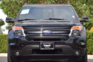 2015 Ford Explorer Limited Carfax 1-Owner - No AccidentsDamage Reported  Tuxedo Black Metallic