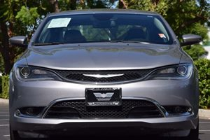 2015 Chrysler 200 C Carfax 1-Owner - No AccidentsDamage Reported  Billet Silver Metallic Clear