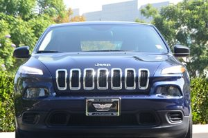 2014 Jeep Cherokee Sport Carfax 1-Owner - No AccidentsDamage Reported  True Blue Pearlcoat 1