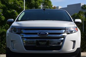 2014 Ford Edge SEL Carfax 1-Owner  White 24193 Per Month -ON APPROVED CREDIT---  ---