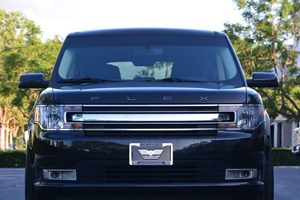 2014 Ford Flex SEL Carfax 1-Owner  Tuxedo Black Metallic 26791 Per Month -ON APPROVED CREDIT