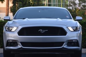 2015 Ford Mustang GT Premium Carfax Report - No AccidentsDamage Reported  Ingot Silver Metalli
