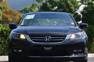 2014 Honda Accord Sedan EX Carfax 1-Owner - No AccidentsDamage Reported  Crystal Black Pearl