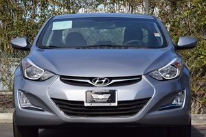 2015 Hyundai Elantra SE Carfax 1-Owner  Shale Gray Metallic 18347 Per Month -ON APPROVED CRE