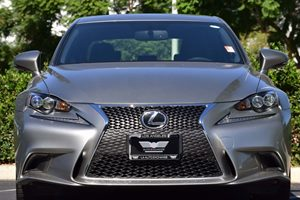 2016 Lexus IS 200t F SPORT Carfax 1-Owner - No AccidentsDamage Reported Abs And Driveline Tracti