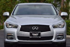 2015 INFINITI Q50  Carfax 1-Owner 150 Amp Alternator 336 Axle Ratio Abs And Driveline Traction