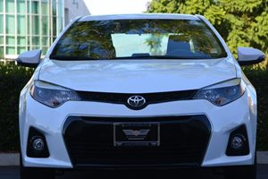 2015 Toyota Corolla S Plus Carfax 1-Owner - No AccidentsDamage Reported  Super White  19646