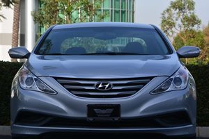 2014 Hyundai Sonata GLS Carfax 1-Owner  Silver  We are not responsible for typographical error