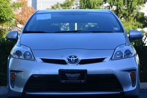 2014 Toyota Prius Three Carfax 1-Owner - No AccidentsDamage Reported  Classic Silver Metallic