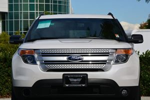 2015 Ford Explorer XLT Carfax 1-Owner  White  31964 Per Month -ON APPROVED CREDIT---  -