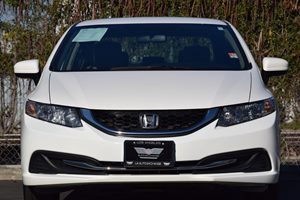 2014 Honda Civic Sedan LX Carfax 1-Owner - No AccidentsDamage Reported Abs And Driveline Tractio