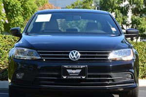 2016 Volkswagen Jetta Sedan 18T Sport PZEV Carfax 1-Owner - No AccidentsDamage Reported  Blac