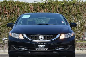 2014 Honda Civic Sedan LX Carfax 1-Owner  Crystal Black Pearl 16398 Per Month -ON APPROVED C