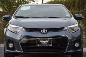 2015 Toyota Corolla S Plus Carfax 1-Owner - No AccidentsDamage Reported Abs And Driveline Tracti