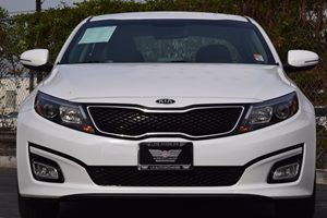 2015 Kia Optima LX Carfax 1-Owner 150 Amp Alternator 288 Axle Ratio Abs And Driveline Traction