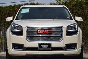 2015 GMC Acadia Denali Carfax 1-Owner - No AccidentsDamage Reported  White Diamond Tricoat 3