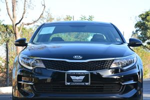 2016 Kia Optima LX Carfax 1-Owner - No AccidentsDamage Reported  Black  We are not responsibl