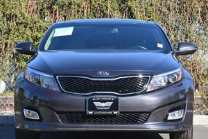 2015 Kia Optima EX Carfax 1-Owner - No AccidentsDamage Reported  Gray  We are not responsible