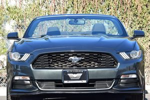 2015 Ford Mustang V6 Carfax Report - No AccidentsDamage Reported  Gray  We are not responsibl