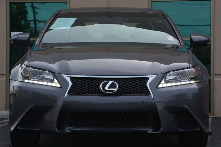 2015 Lexus GS 350 F-Sport Black Grille WChrome Surround Fully Automatic Projector Beam High Inte