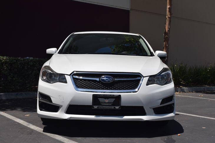 2015 Subaru Impreza Sedan 20i Premium  Crystal White Pearl TAKE ADVANTAGE OF OUR PUBLIC WHOL