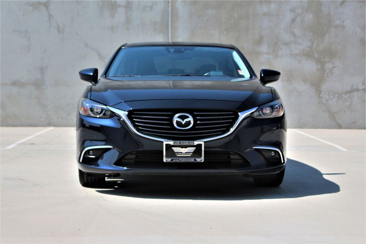 2016 Mazda Mazda6 i Grand Touring Passenger Capacity  5 Deep Crystal Blue TAKE ADVANTAGE OF