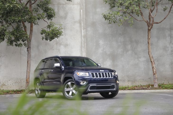 2014 Jeep Grand Cherokee Limited Engine 36L V6 24V Vvt Flex Fuel Transmission 8-Speed Automati
