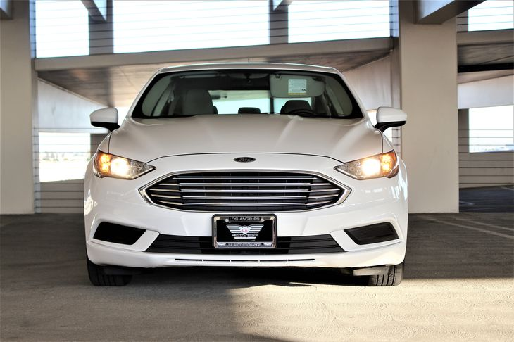 2017 Ford Fusion S Engine 25L Ivct Audio Smart Device Integration White TAKE ADVANTAGE OF