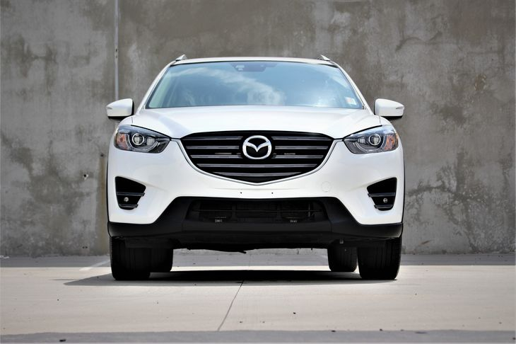 2016 Mazda CX-5 Grand Touring Compact Spare Tire Mounted Inside Under Cargo Deep Tinted Glass Fu