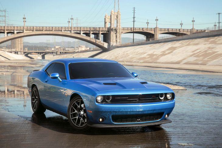 2016 Dodge Challenger RT Scat Pack Engine 64L V8 Srt Hemi Mds Transmission 8-Speed Automatic