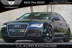 2012 Audi A8 L 42 QUATTRO Carfax 1-Owner Air Conditioning  Climate Control Audi Drive Select -