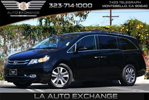 2014 Honda Odyssey Elite Carfax 1-Owner Air Conditioning  Multi-Zone AC Convenience  Back-Up