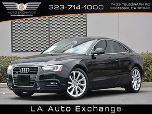 2014 Audi A5 Premium Plus Carfax 1-Owner Air Conditioning  Climate Control Convenience  Fog La