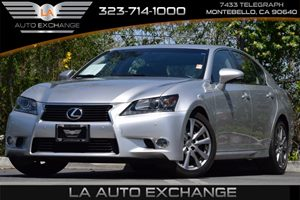 2013 Lexus GS 350  Carfax 1-Owner - No Accidents  Damage Reported to CARFAX 3-Point Belts For Al