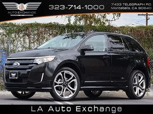 2013 Ford Edge Sport Carfax 1-Owner - No Accidents  Damage Reported to CARFAX  Tuxedo Black Me