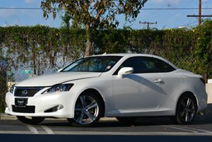 2012 Lexus IS 250C  Carfax 1-Owner Air Conditioning  Climate Control Convenience  Cruise Contr