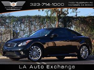 2013 Infiniti G37 Coupe Journey Carfax 1-Owner - No Accidents  Damage Reported to CARFAX  Blac