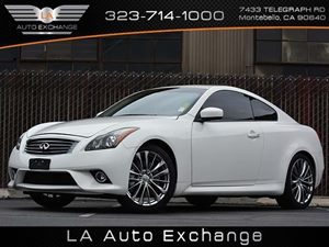 2013 Infiniti G37 Coupe Sport 6MT Carfax 1-Owner - No Accidents  Damage Reported to CARFAX  Mo