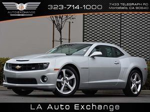 2013 Chevrolet Camaro SS Carfax 1-Owner - No Accidents  Damage Reported to CARFAX Air Conditioni