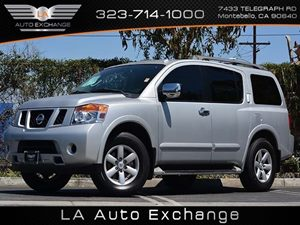 2012 Nissan Armada SV Carfax 1-Owner - No Accidents  Damage Reported to CARFAX  Brilliant Silv