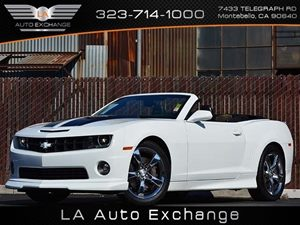 2012 Chevrolet Camaro 2SS Carfax 1-Owner Air Conditioning  AC Audio  Auxiliary Audio Input A