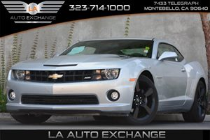 2013 Chevrolet Camaro SS Carfax 1-Owner Air Bags Dual-Stage Frontal And Thorax Side-Impact Dri