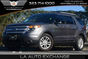 2014 Ford Explorer XLT Carfax 1-Owner Air Conditioning  AC Audio  AmFm Stereo Convenience