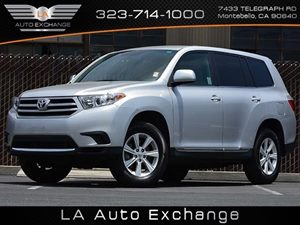2012 Toyota Highlander  Carfax Report - No Accidents  Damage Reported to CARFAX  Classic Silve