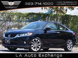 2014 Honda Accord Coupe EX-L Carfax 1-Owner - No Accidents  Damage Reported to CARFAX 2 12V Dc P
