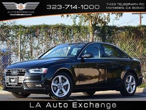 2013 Audi A4 Premium Carfax 1-Owner Air Conditioning  Climate Control Audio  Premium Sound Sys