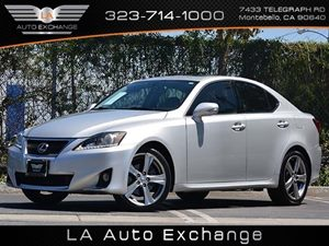 2012 Lexus IS 250  Carfax Report  Silver  All advertised prices exclude government fees and ta