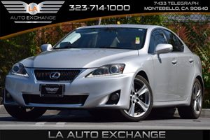 2012 Lexus IS 250  Carfax Report 25L 24-Valve Direct Injection V6 Engine -Inc Dual Variable Val