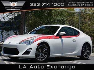 2013 Scion FR-S  Carfax 1-Owner  Whiteout  Keyless EntryAluminum WheelsPower Mirrors2 12V